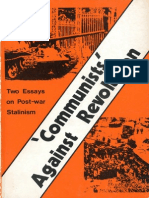 Communists Against Revolution