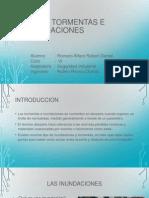 Tormentas e Inundaciones - Robert Daniel Romero Alfaro