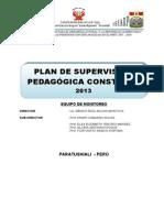 Plan de Supervisión Pedagógica Constante 2013-28 Juniof