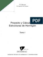 77950529 Proyecto y Calculo de Estructuras de Hormigon Tomo I Calavera