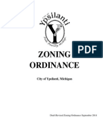Ypsilanti Zoning Ordinance Proposal