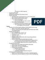Orgo Study Guide