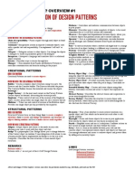 Design-Patterns Cheat Sheet