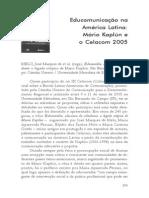 Educomunicação Na America Latina_Mario Kaplun o Celacon 2005