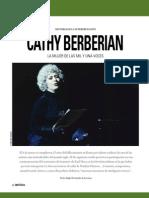Cathy Berberian - La mujer de las mil y una voces