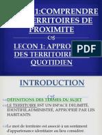 Territoire Du Quotidien 1 SD