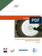 2014 2015 Guide Eleve Conservateur