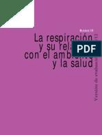 La Respiracion y Su Relacion Con El Ambiente y La Salud
