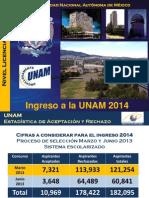 UNAM 2013 JUNIO [Estadisticas]