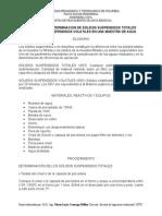 Guia Solidos Suspendidos Totales y Soluidos Suspendidos Volatiles PTAR IC