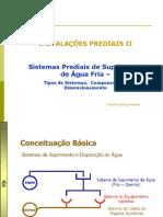 Apostila 1- Água Fria - Sistema e Componentes e dimensionamento-final.ppt