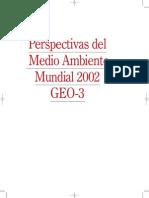 Perspectivas Del Medio Ambiente Mundial 2002