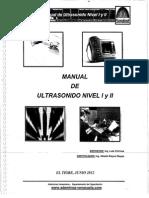 Manual de Ultrasonido Nivel I y II