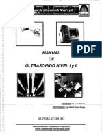 Manual de Ultrasonido Nivel I y II