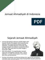 Jemaat Ahmadiyah di Indonesia