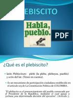 Presentacion PLEBISCITO
