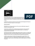 Dell Inc Company History