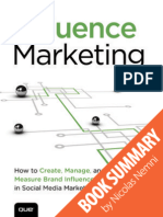 Influence Marketing by Danny Brown and Sam Fiorella Summary