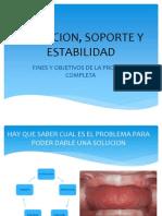 3.- Retencion, Soporte y Estabilidad Completa 3ra Clase III