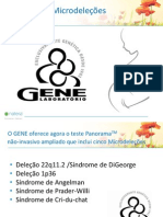 Gene Diagnostico Nao Invasivo de Microdelecoes