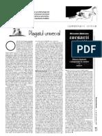 plagiatul universal critica