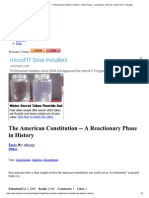 The American Constitutio...a, Government - Booksie