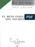 Lacan_El Mito Individual Del Neurótico