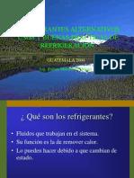 Refrigerantes alternativos Guatemala2004