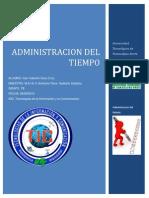 Administracion del tiempo(conceptos de urgente,eficiencia, eficacia, etc..)