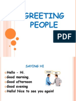 Greeting people.ppt