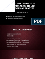 Algunos Aspectos Culturales de Los Indigenas Wayuu