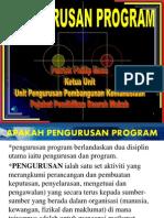 Pengurusan Program