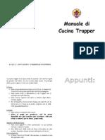 Manuale Di Cucina Trapper (24 Ricette) (by Agesci)
