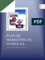 Plan de Marketing Gloria s.a.