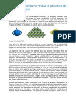 L'étude du graphène révèle la structure de l'espace-temps