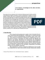 Bell Martin - Enfoques sobre politica de ciencia y tecnologia en los anos  90.pdf