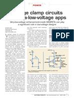 Voltage Clamp Circuits