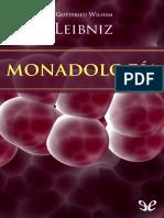 Leibniz, Gottfried Wilhem - Monadologia [17801] (r1.0 Marcelo77)