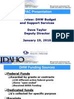 2011 Budget Overview - DHW - 01 19 2010 - Final JFAC