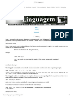 STRING Linguagem C
