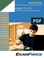 Microsoft 70-412 Study Guide