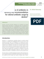 A Review of Use of Antibiotics