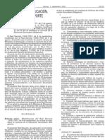 Vigente para 2º y 4º ESO (este 07-08)---R.D. 937-2.001 de 3 Agosto sobre establecimiento de curriculum de E.S.O. (B.O.E. de 7-9-2.001) Antiguo