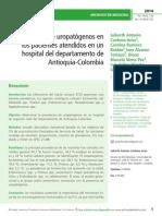Prevalencia de uropatógenos en los pacientes atendidos en un hospital del departamento de Antioquia-Colombia