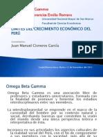 Cisneros Comentarios a Expo Crecimiento Bustamante