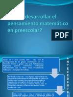 Cómo desarrollar el pensamiento matemático en preescolar.pptx