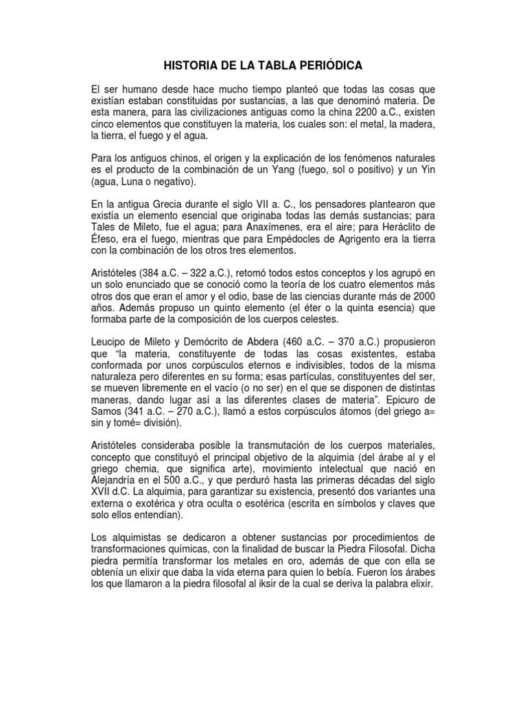 Historia de la tabla peridica 1 copy urtaz Image collections