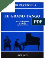 Piazzolla - Le Grand Tango (Cello & Piano)