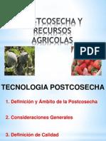 Postcosecha y Recursos Agricolas