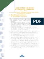 2014 Extrait Notice Admission Candidats Internationaux